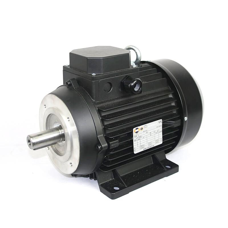 Orange 1 |  Solid Shaft Electric Motor